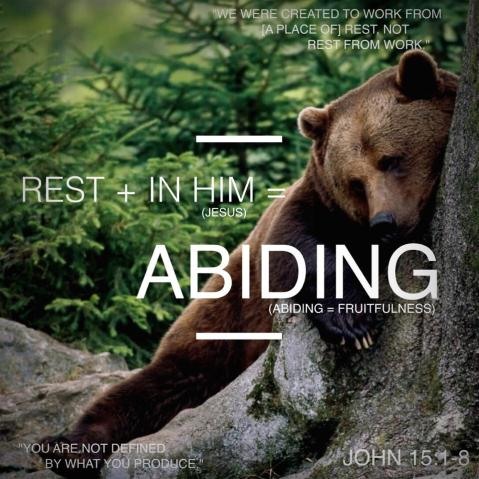Abiding: A Discipleship Essential
